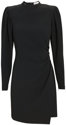 A.L.C. Jane Draped Crepe Dress