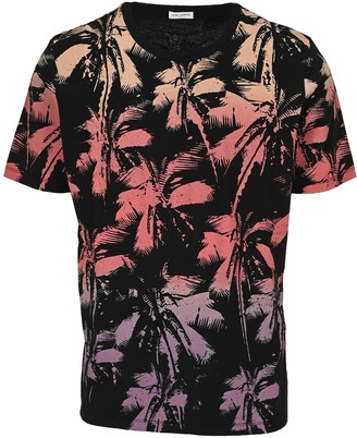 Saint Laurent Palm Trees Print T-Shirt