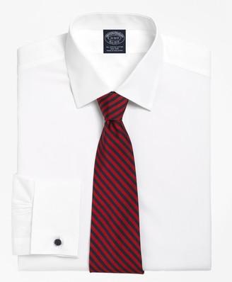 Brooks Brothers Big & Tall Dress Shirt, Non-Iron Spread Collar French Cuff