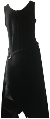 Celine Anthracite Cotton Dresses