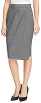 Brooks Brothers Petite Wool Pencil Skirt