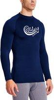 Baleaf Men's Long Sleeve Surf Shirt Rashguard Swim Tee UPF 50+ Size M