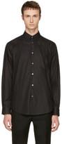 Stella McCartney Black Tonal Swallow Shirt