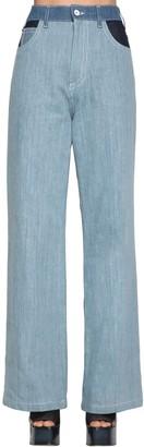 Marni High Waist Cotton Denim Pants