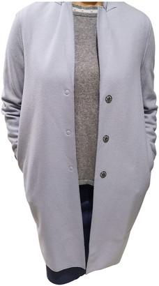 Harris Wharf London Grey Wool Coats