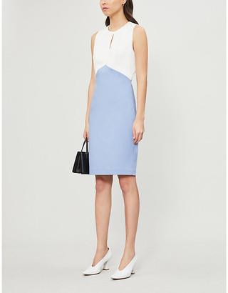 Ted Baker Zamelid fitted sleeveless crepe dress