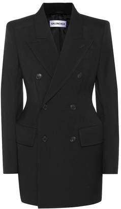 Balenciaga Hourglass wool blazer