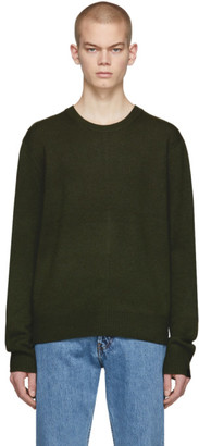 Rag & Bone Green Cashmere Haldon Sweater