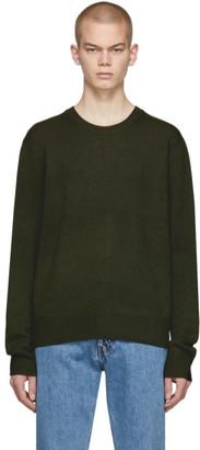 Rag & Bone Green Cashmere Haldon Sweater