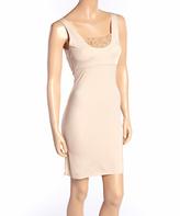 Nude Lace Body Liner Shaper Slip