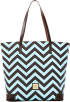 Dooney & Bourke Chevron Everyday Tote