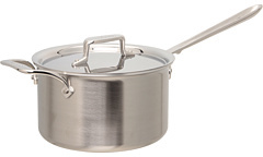 All-Clad d5 Brushed 4 Qt. Sauce Pan With Lid