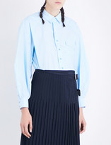 Toga Ladies Light Blue Long-Sleeved Pure Cotton Shirt
