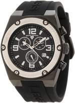 Swiss Legend Men's 30025-BB-01-SB Throttle Chronograph Dial Watch