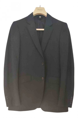 Burberry Blue Wool Suits