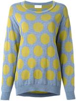 Christian Wijnants 'Knack' jumper - women - Cotton/Polyamide/Wool - S
