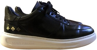Louis Vuitton Beverly Hills Black Patent leather Trainers