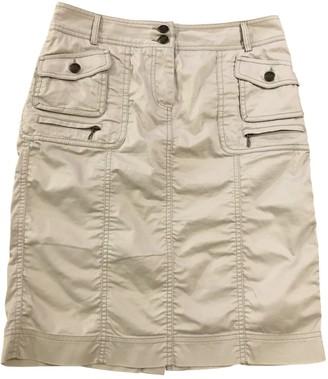 Gerard Darel Beige Cotton Skirt for Women
