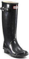 Hunter Huntress Extended Calf Glossy Rain Boots