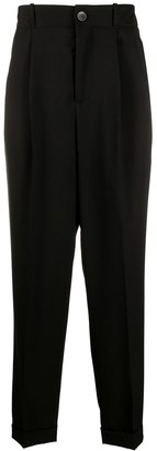Goetze Charles pleated high waist trousers