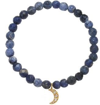 Satya Sodalite Crescent Moon Stretch Bracelet