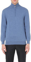 Brioni Half-zip Wool Jumper