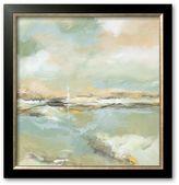 "Art.com Waterline I"" Framed Art Print by Michael King"