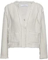 IRO Frayed Cotton-Blend Bouclé-Tweed Jacket