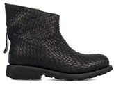 Bikkembergs Women's Black Leather Ankle Boots.
