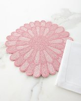 Divine Designs Beaded Flower Placemat