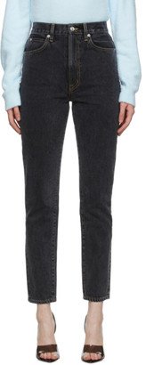 SLVRLAKE Black Faded Beatnik Jeans