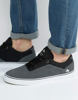 Emerica Herman Trainers In Black