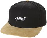 Element Hudson Snapback Cap Black