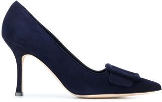 Manolo Blahnik Maysale mid-heel pumps