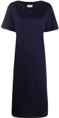 Moncler contrast panel T-shirt dress