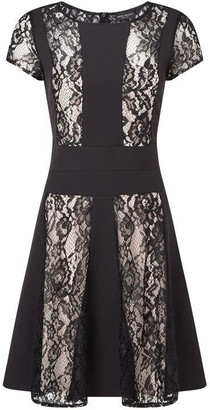James Lakeland Lace Contrast Dress
