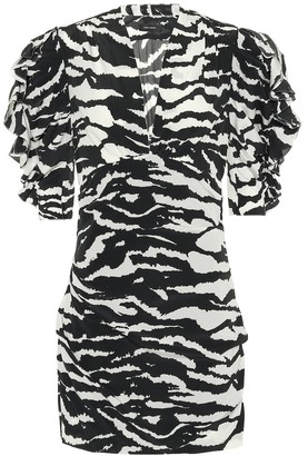 Isabel Marant Farah animal-print minidress