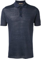 Nuur knitted polo shirt - men - Linen/Flax - 54