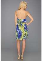 Max & Cleo Katelyn Halter Pleated Dress