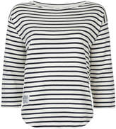 Mads Norgaard striped fitted top