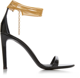 Giuseppe Zanotti Cuff-Detailed Leather Sandals