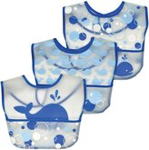 green sprouts by i play. Waterproof Pocket Bib - Eva Material - Whales - 3 ct