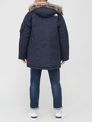 The North Face Recycled McMurdo Jacket- Navy