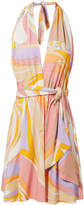 Emilio Pucci Halter Mini Dress