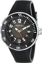 Philip Stein Teslar Men's 34-BB-RB Extreme Black Rubber Strap Watch