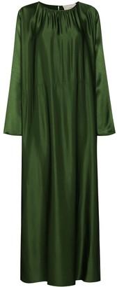 ASCENO Rhodes kaftan maxi dress