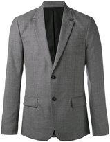 Ami Alexandre Mattiussi Lined 2 Button Jacket - men - Viscose/Wool - 44