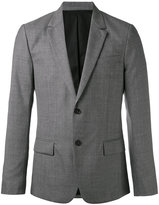 Ami Alexandre Mattiussi Lined Two Button Jacket - men - Viscose/Wool - 44