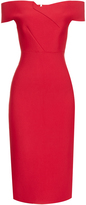 Roland Mouret Belvedere off-the-shoulder dress