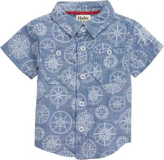 Hatley Compass Print Woven Shirt